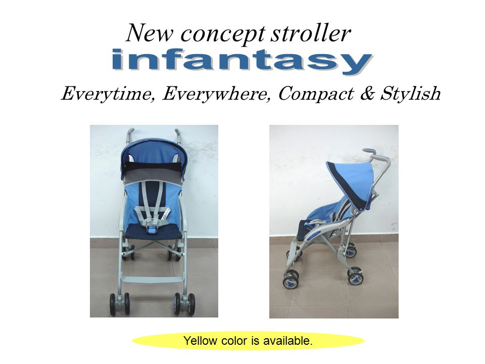 New concept stroller infantasy