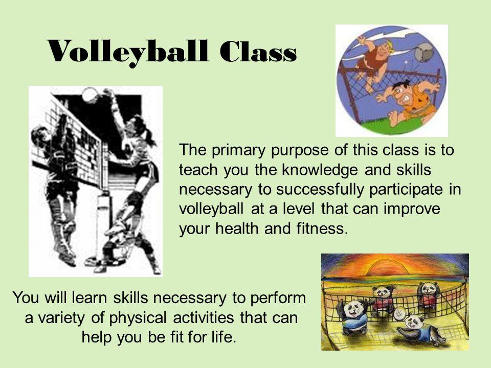 Volleyball Class
