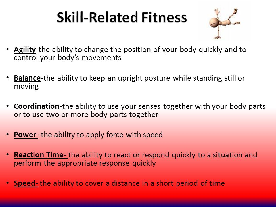 Skill-Related Fitness