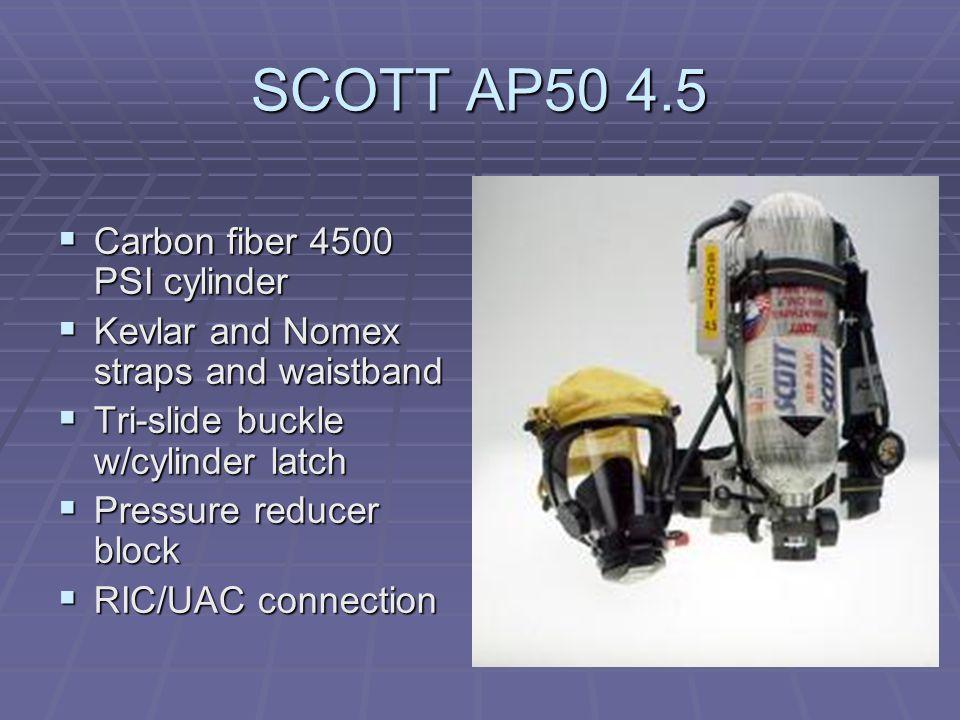SCOTT AP50 4.5 Carbon fiber 4500 PSI cylinder
