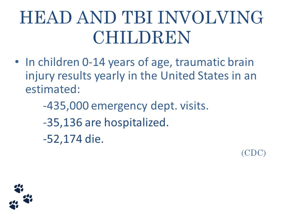 HEAD AND TBI INVOLVING CHILDREN