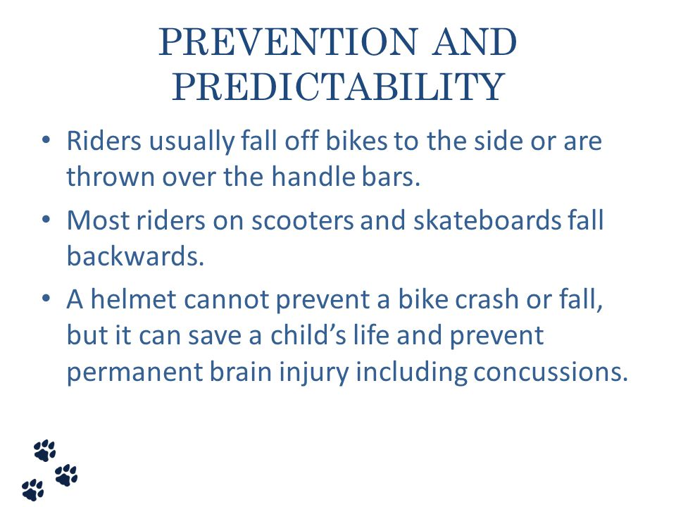 PREVENTION AND PREDICTABILITY