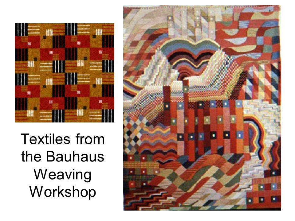 Textiles from the Bauhaus Weaving Workshop