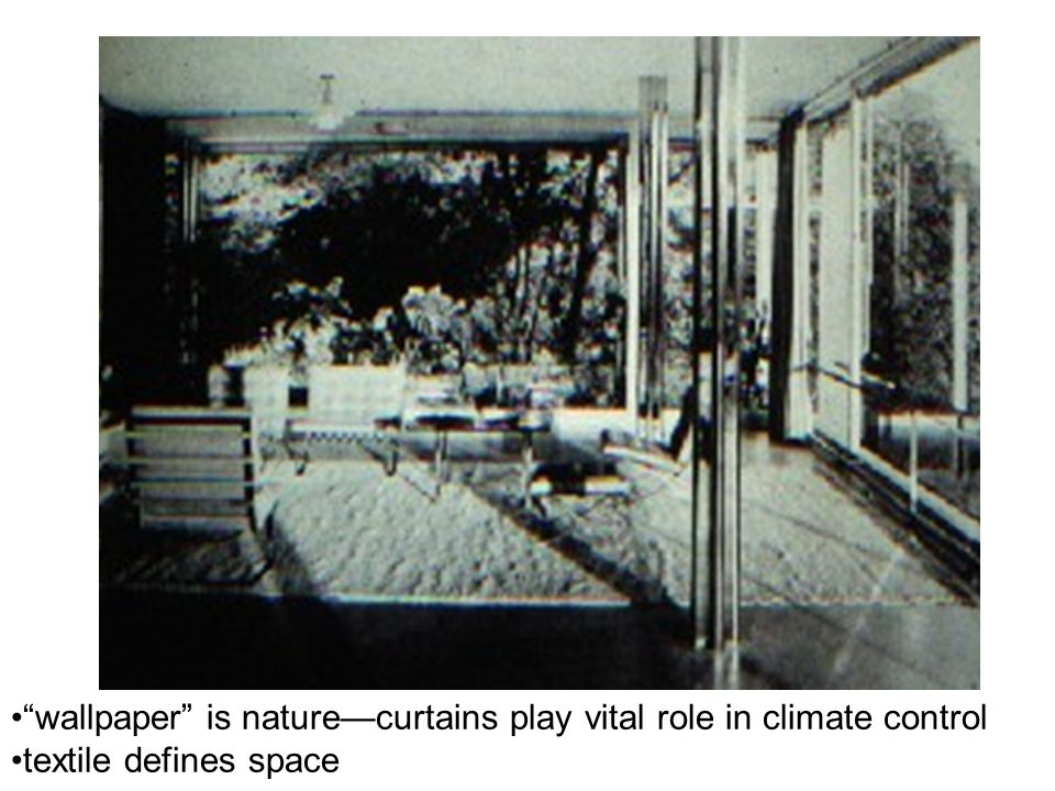 wallpaper is nature—curtains play vital role in climate control