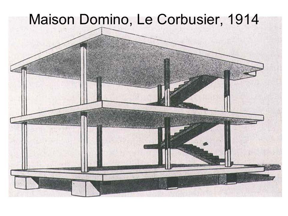 Maison Domino, Le Corbusier, 1914