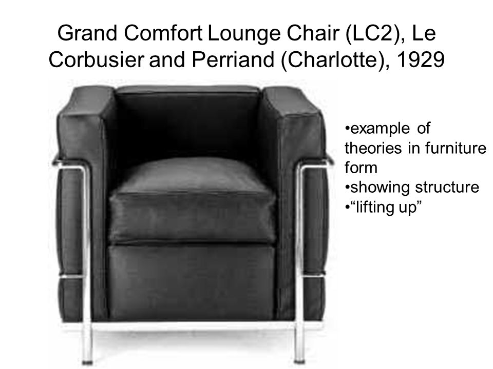 Grand Comfort Lounge Chair (LC2), Le Corbusier and Perriand (Charlotte), 1929