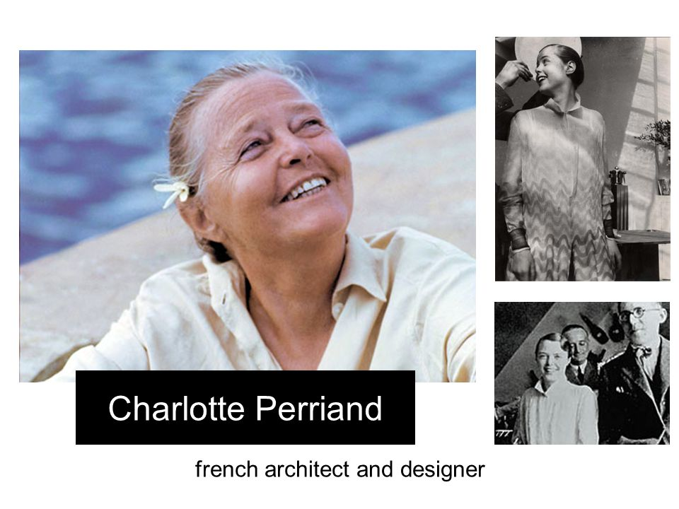 french architect and designer