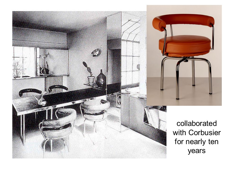 collaborated with Corbusier for nearly ten years