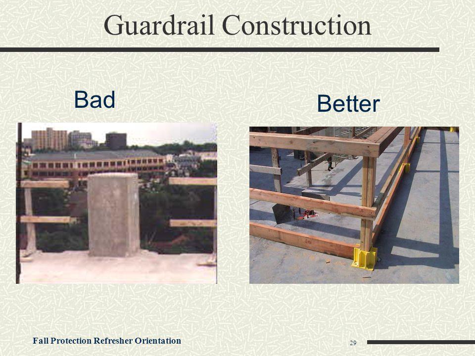 Guardrail Construction
