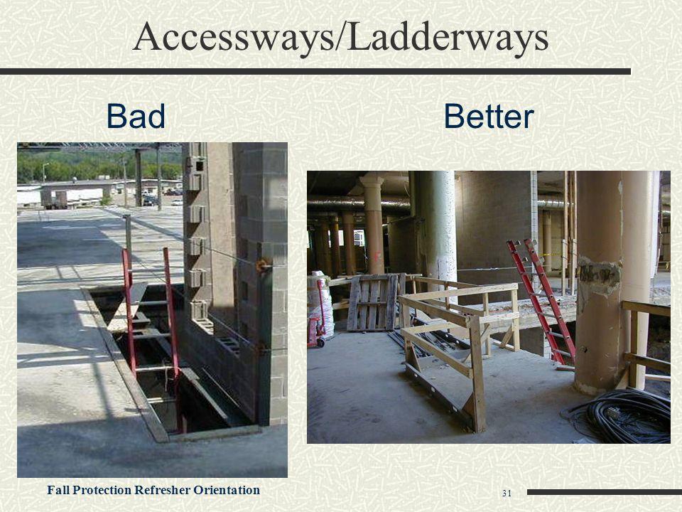 Accessways/Ladderways