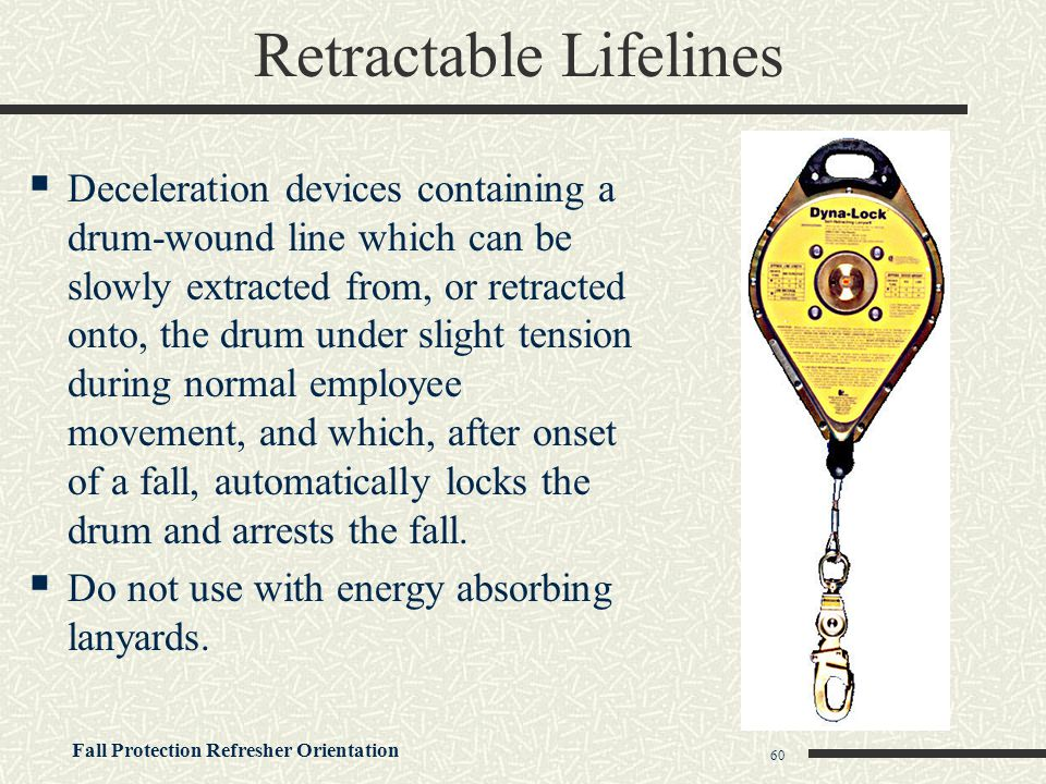 Retractable Lifelines