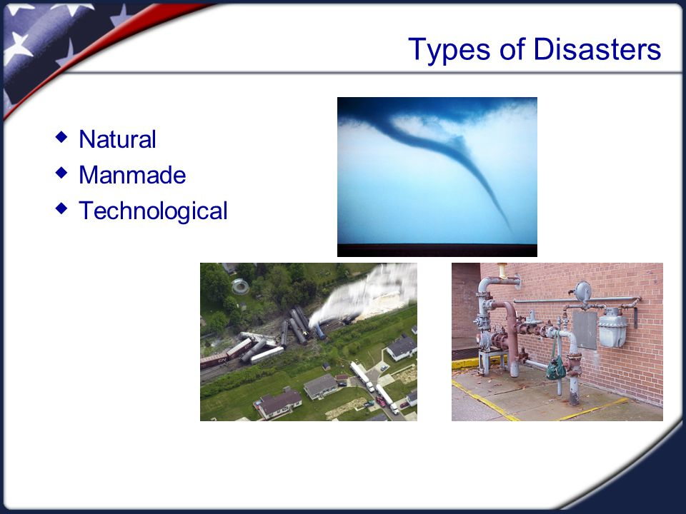Key Elements of Disasters