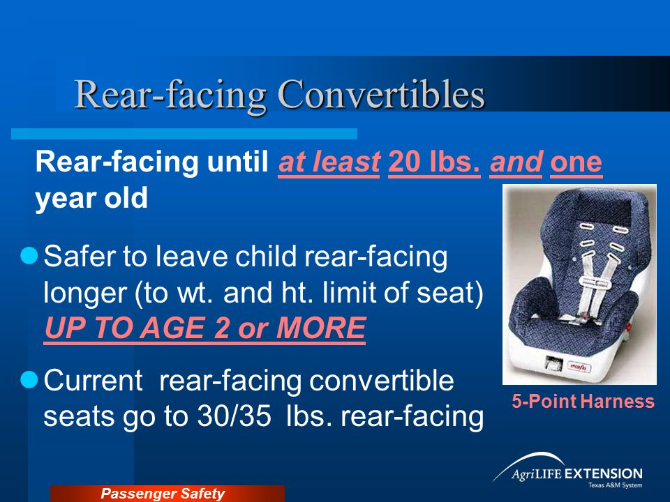 Rear-facing Convertibles