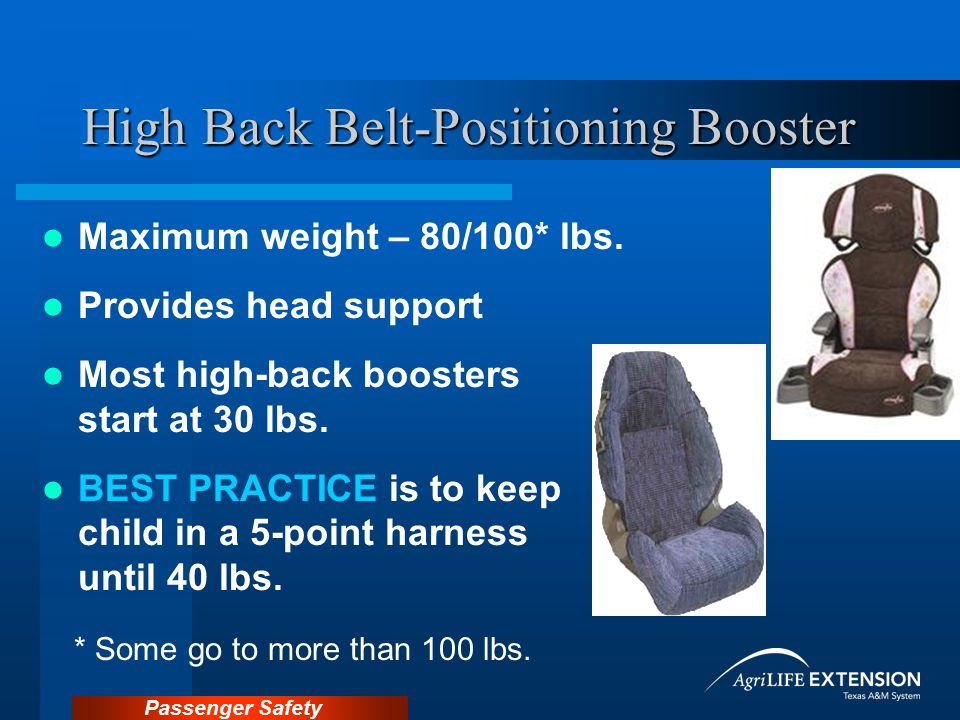 High Back Belt-Positioning Booster
