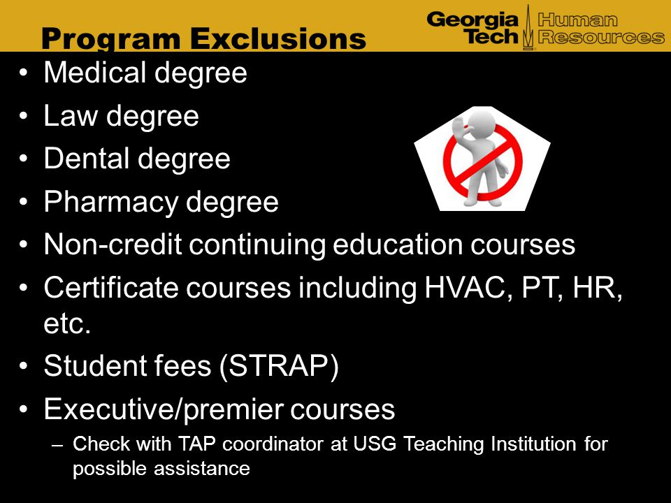 Non-credit continuing education courses