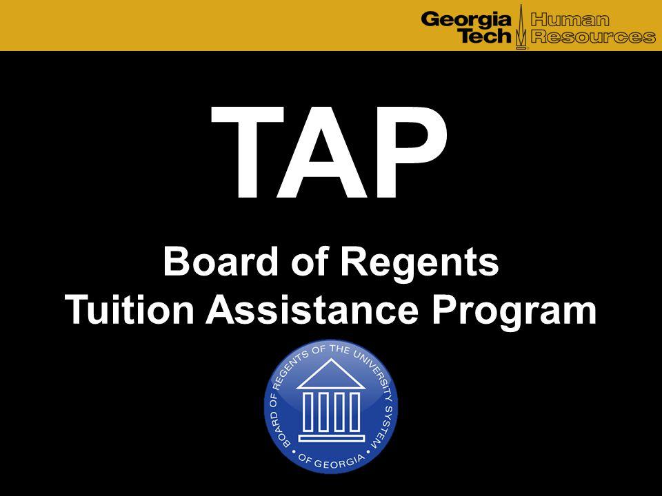 Board of Regents Tuition Assistance Program