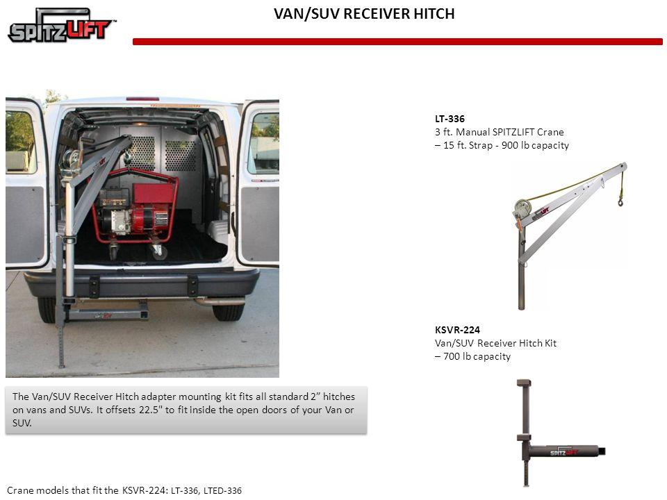 VAN/SUV RECEIVER HITCH