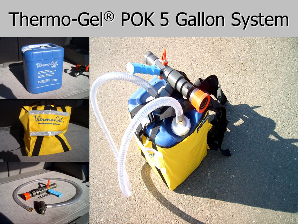 Thermo-Gel® POK 5 Gallon System