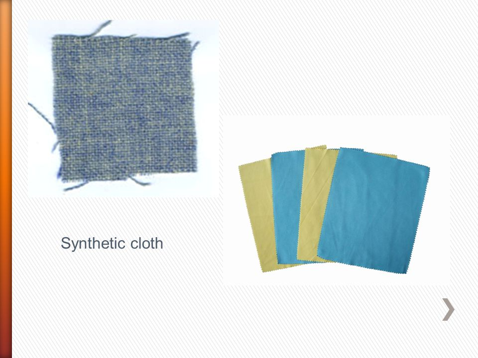 Synthetic cloth