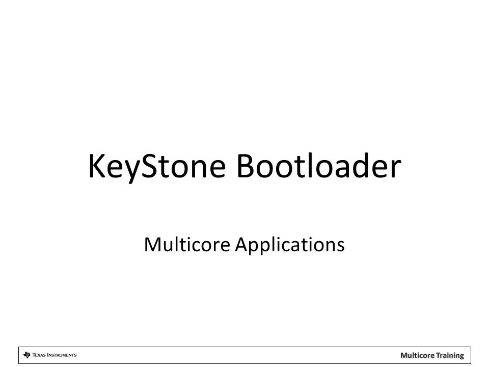 Multicore Applications