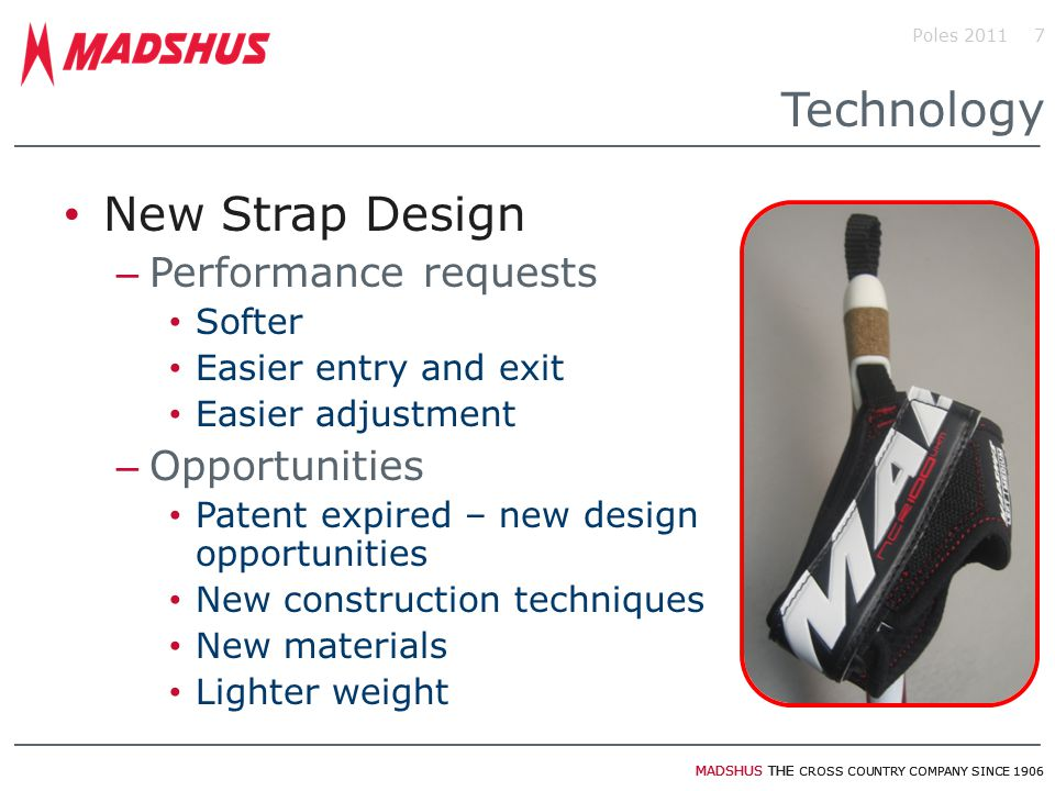 Technology New Strap Design Performance requests Opportunities Softer
