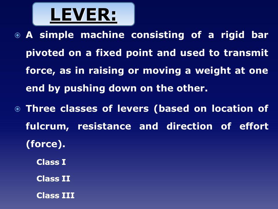 LEVER: