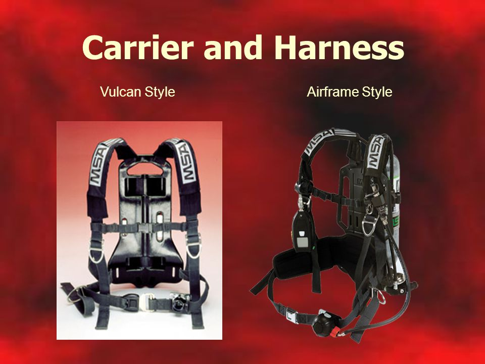 Carrier and Harness Vulcan Style Airframe Style