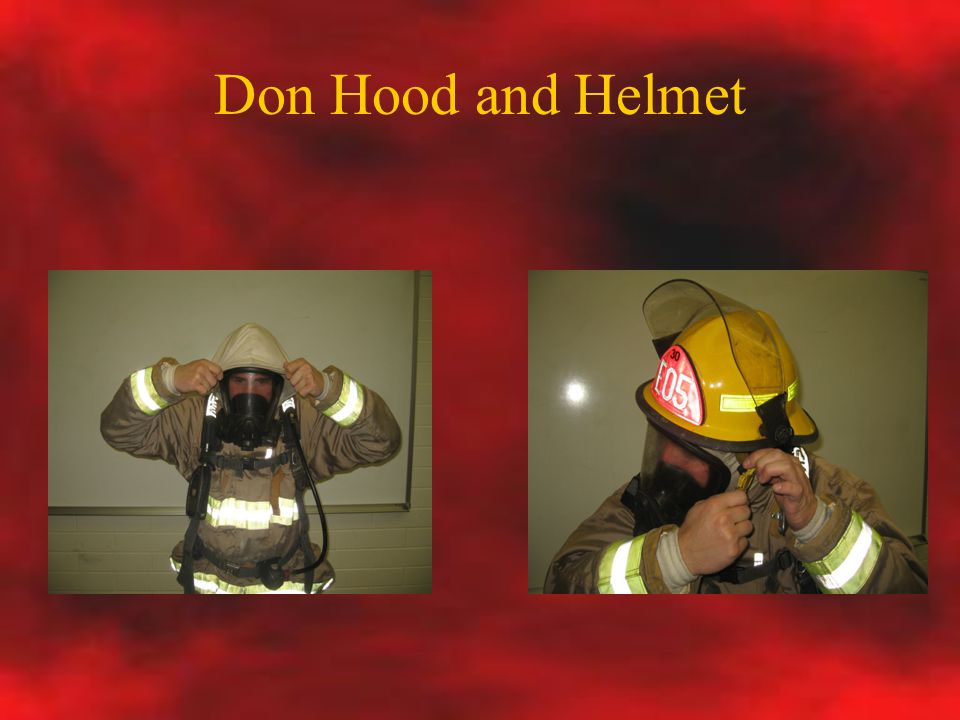 Don Hood and Helmet