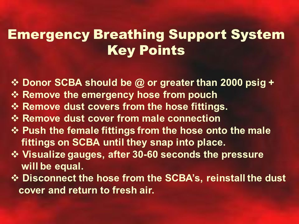 Emergency Breathing Support System