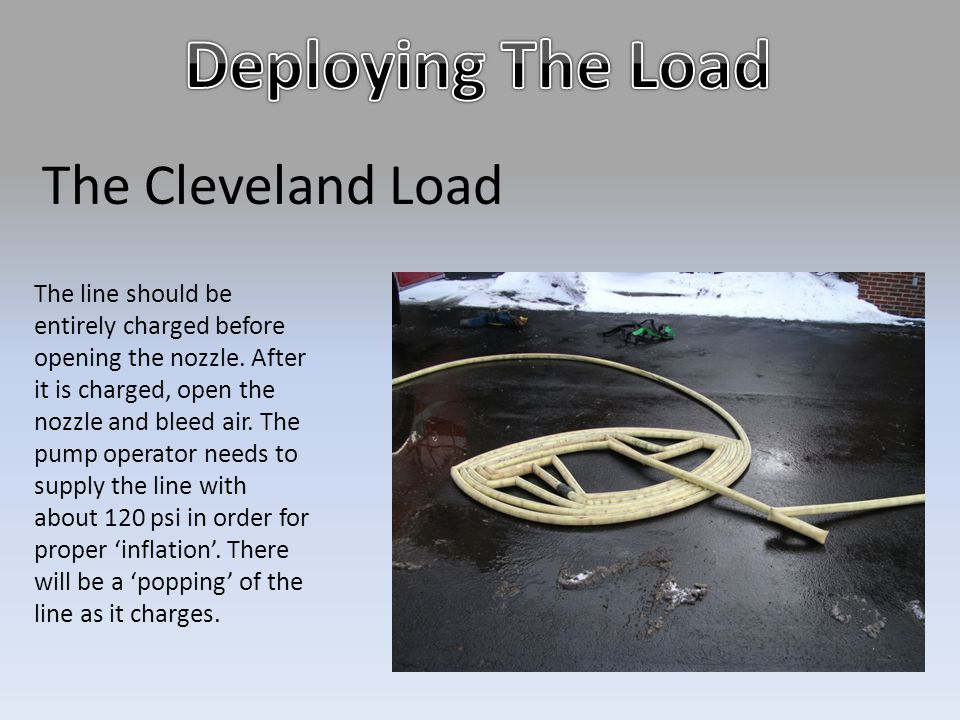 Deploying The Load The Cleveland Load