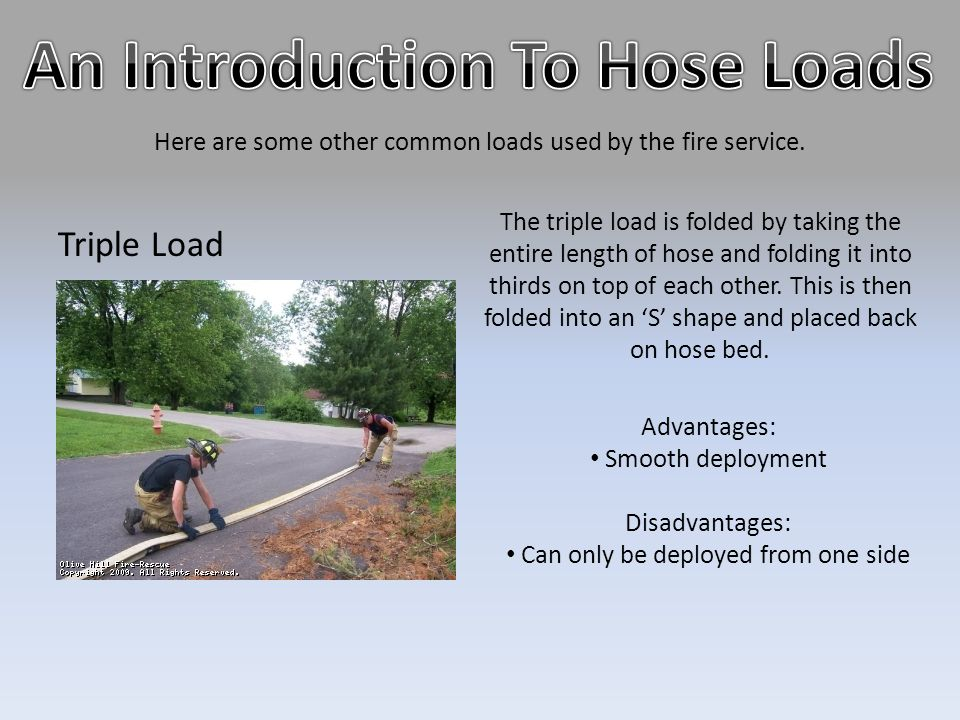 An Introduction To Hose Loads