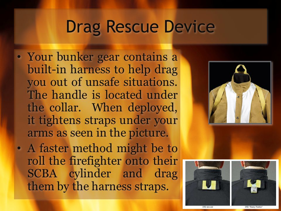 Drag Rescue Device