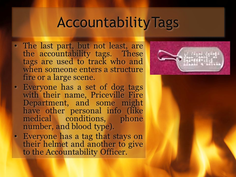 Accountability Tags