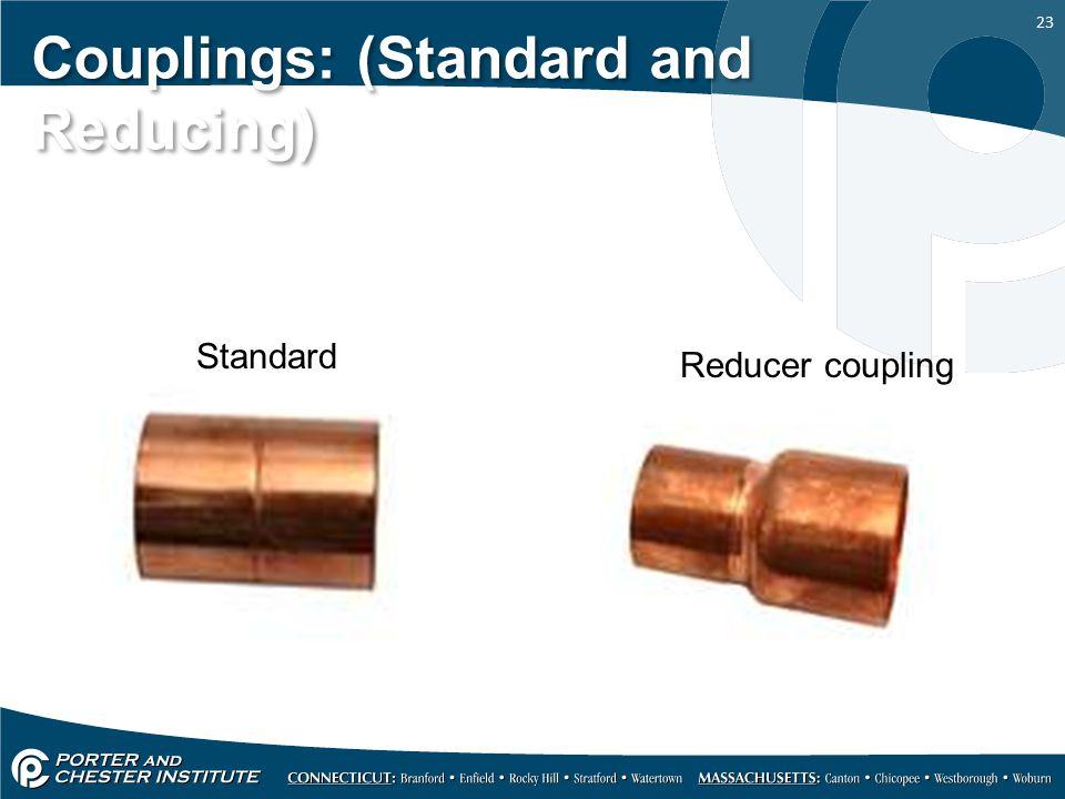 Couplings: (Standard and Reducing)