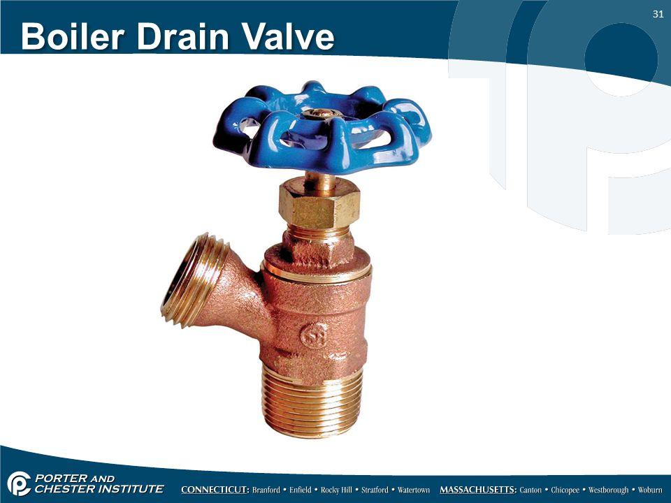 Boiler Drain Valve