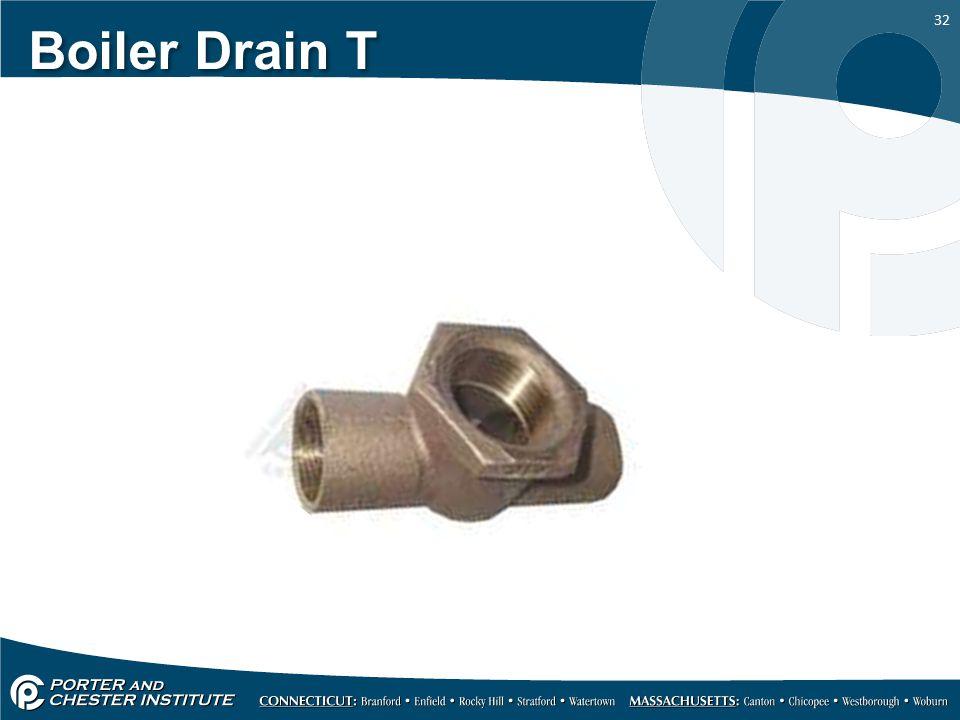 Boiler Drain T