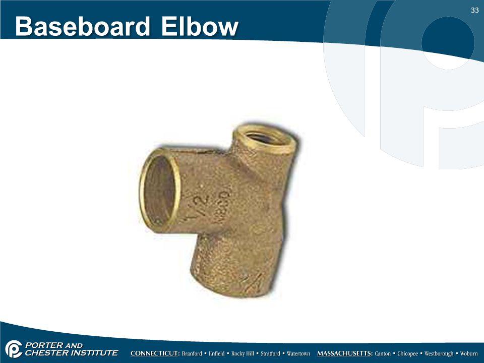 Baseboard Elbow