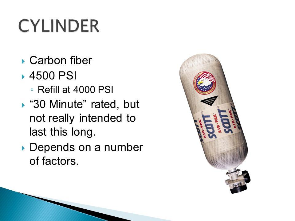 CYLINDER Carbon fiber 4500 PSI