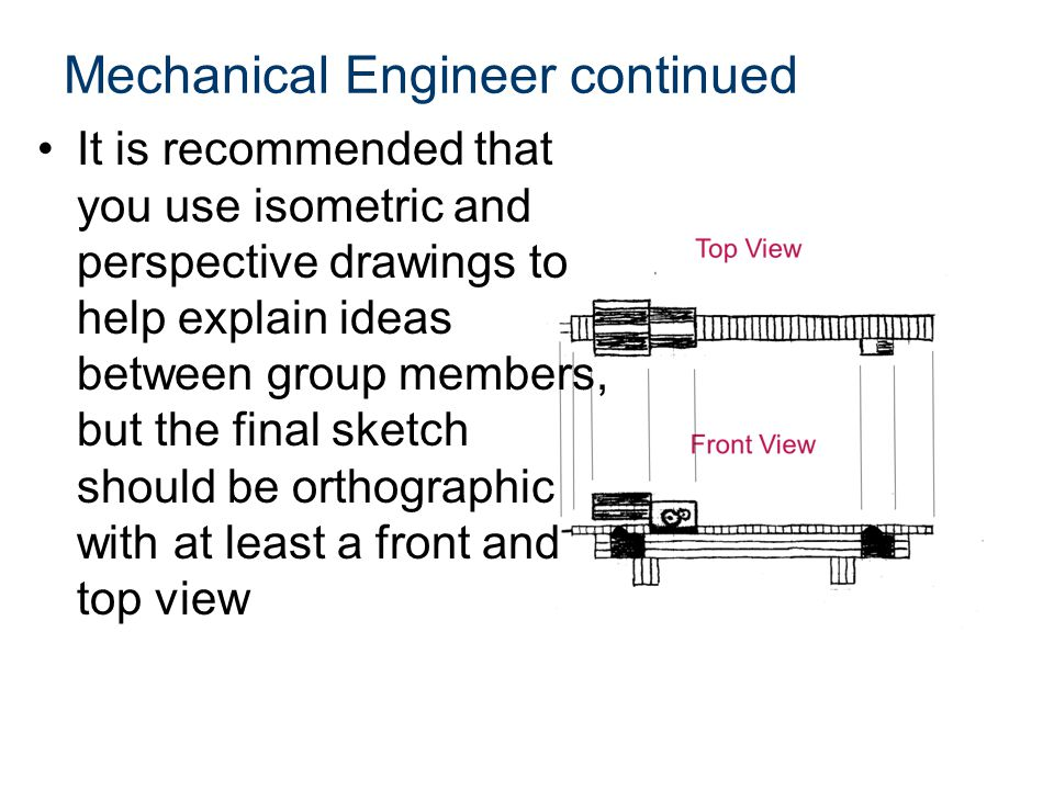 Mechanical Engineer continued