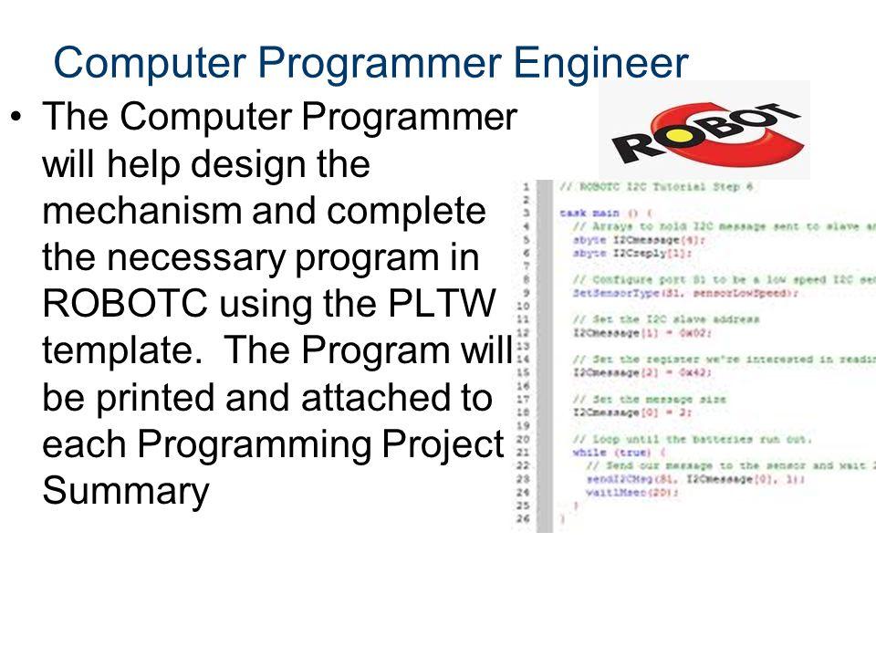 Computer Programmer Engineer