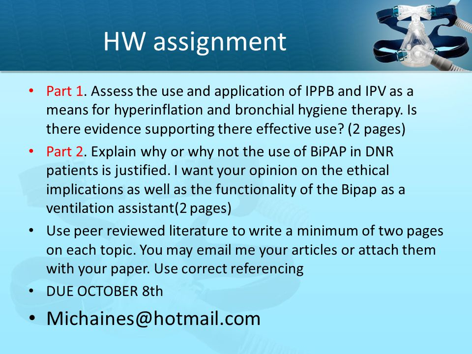 HW assignment Michaines@hotmail.com