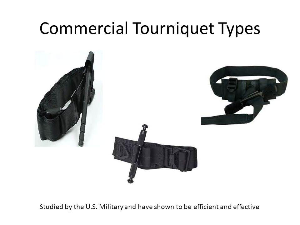 Commercial Tourniquet Types
