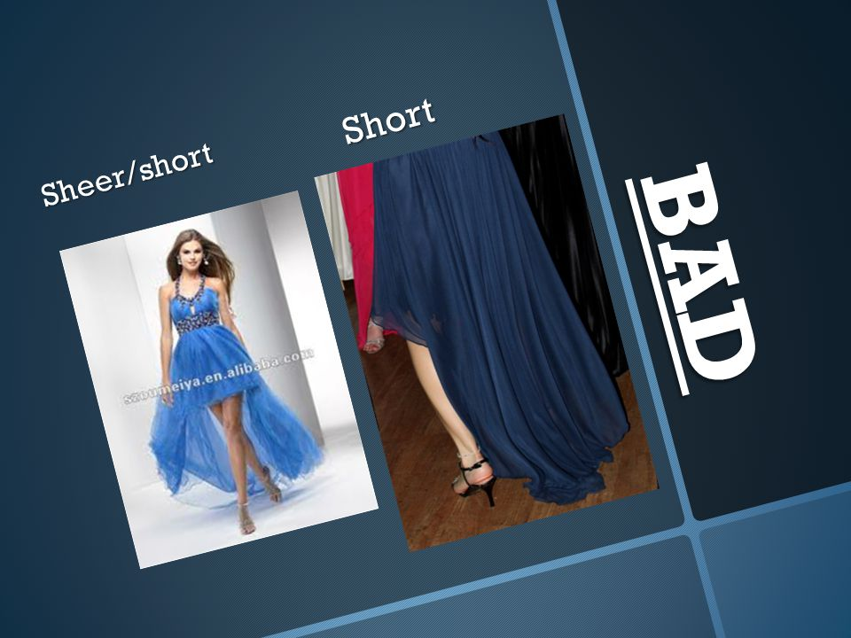 Short Sheer/short BAD