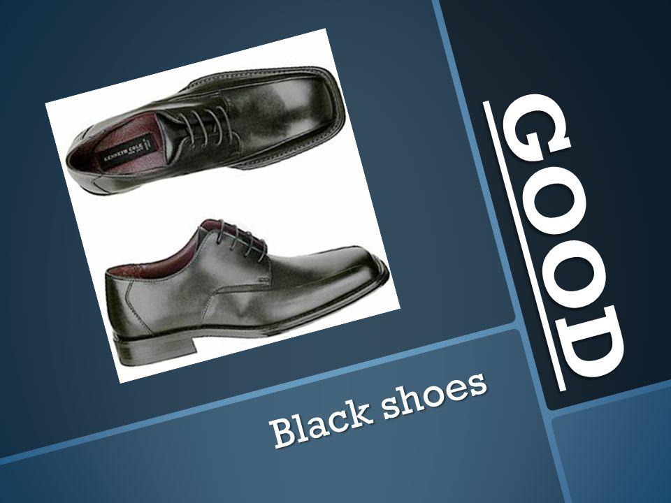 GOOD Black shoes