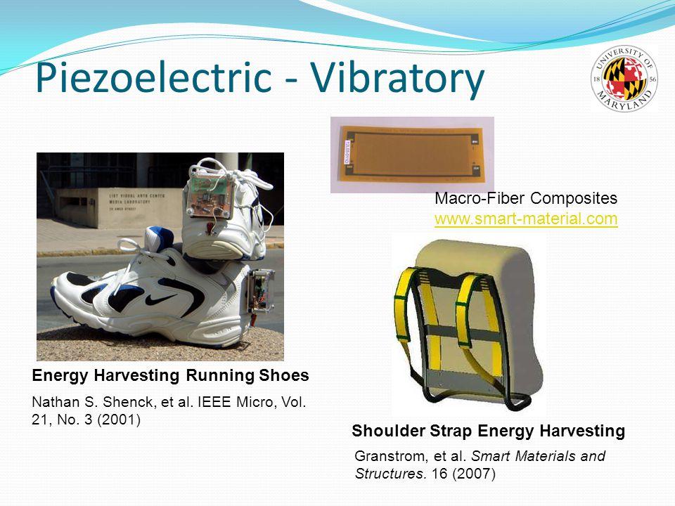 Piezoelectric - Vibratory