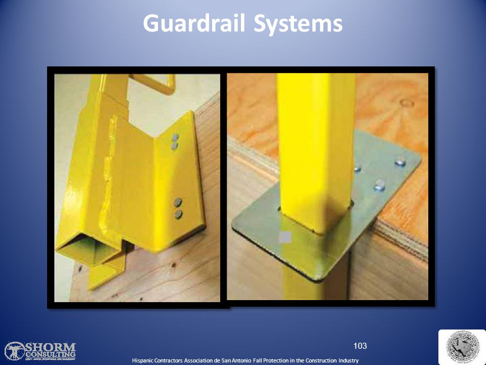 Guardrail Systems Temporary Guardrails: