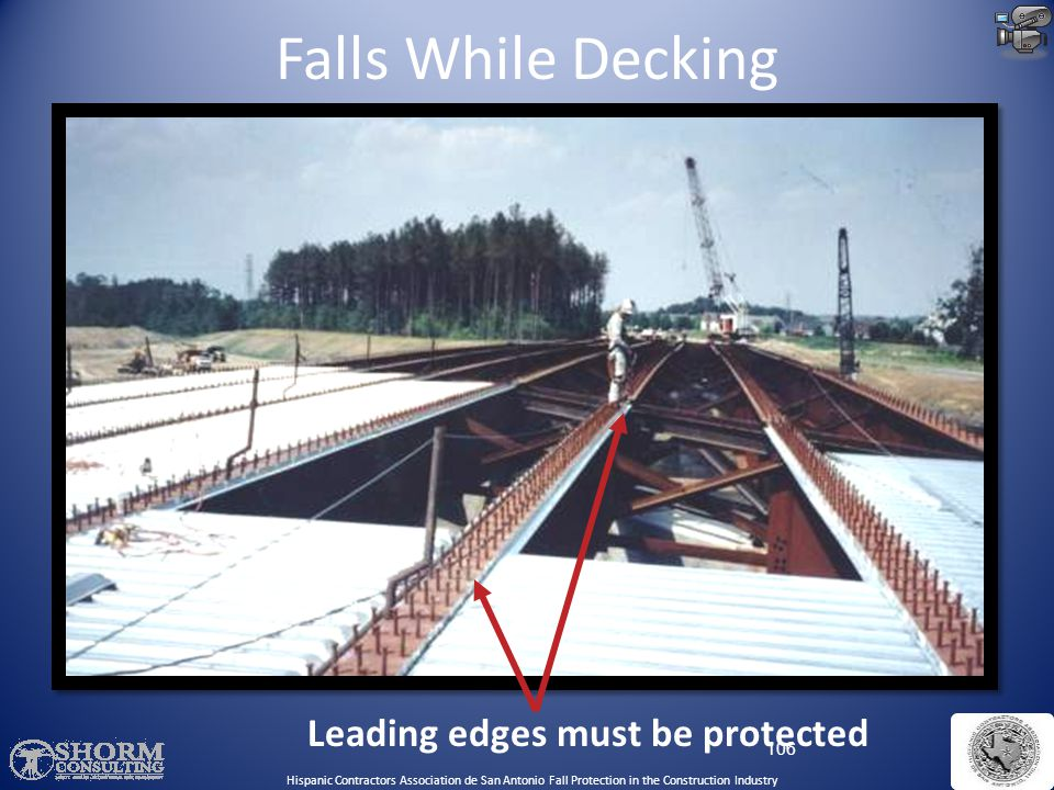 Leading edges must be protected