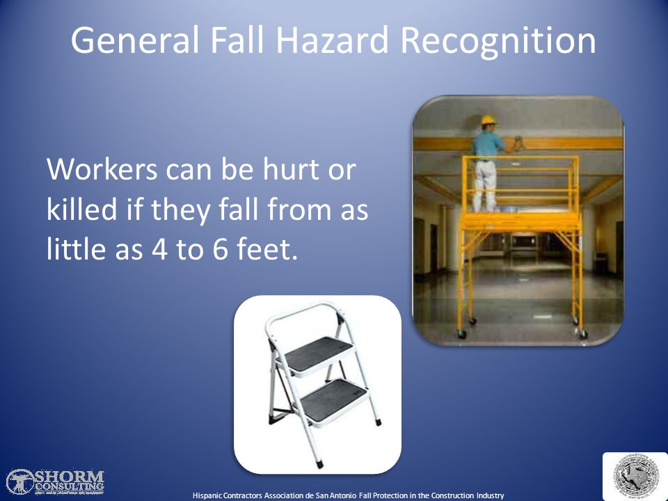 General Fall Hazard Recognition