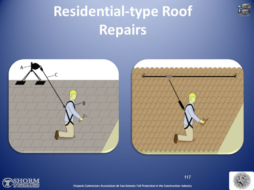 Residential-type Roof Repairs