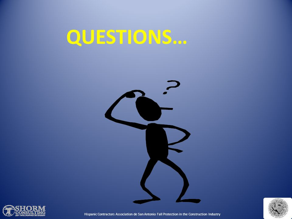 QUESTIONS… Any questions. Continue to practical exercises.